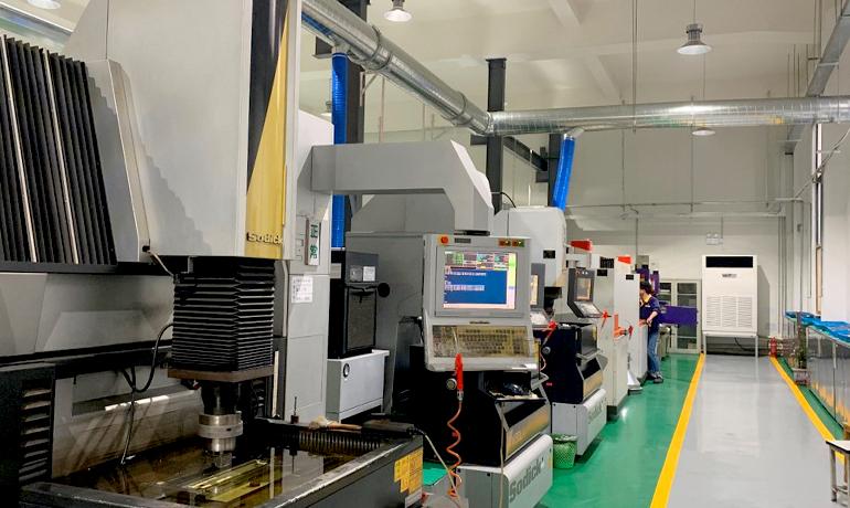 中国のサプライヤー企業の工場j内写真その3