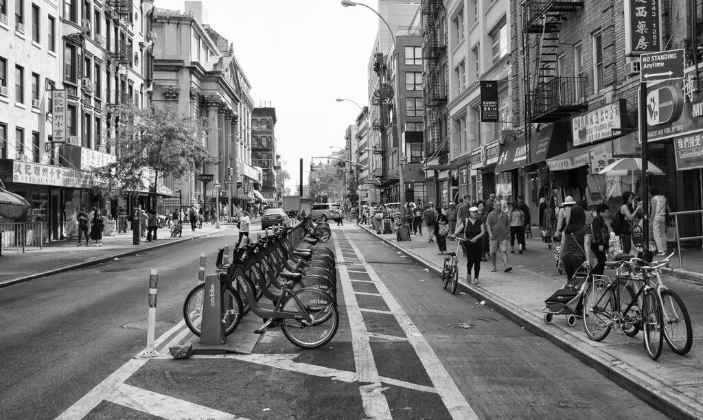中国の街イメージ写真