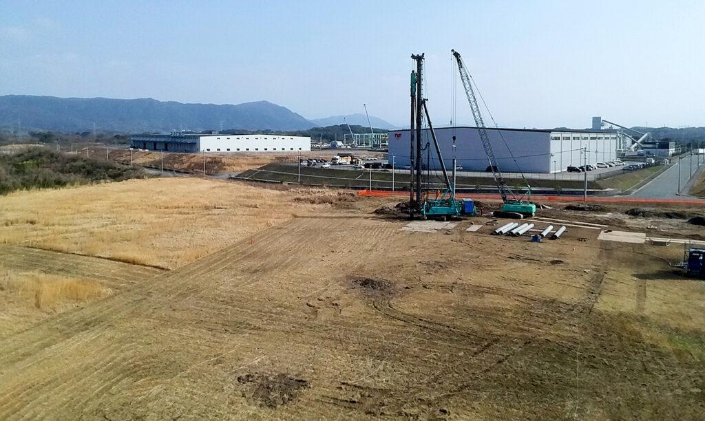 中村精工 九州工場建設予定地