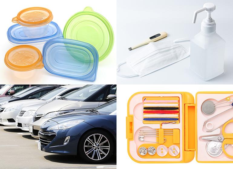 身の回りのプラスチック製品