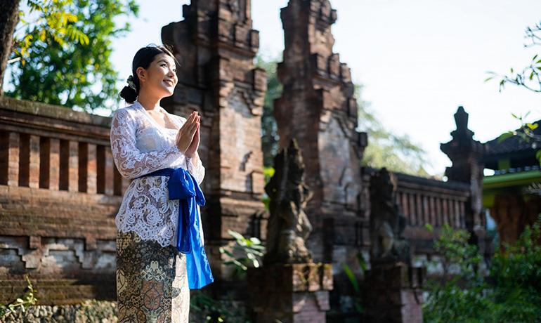 インドネシアの宗教のイメージ写真