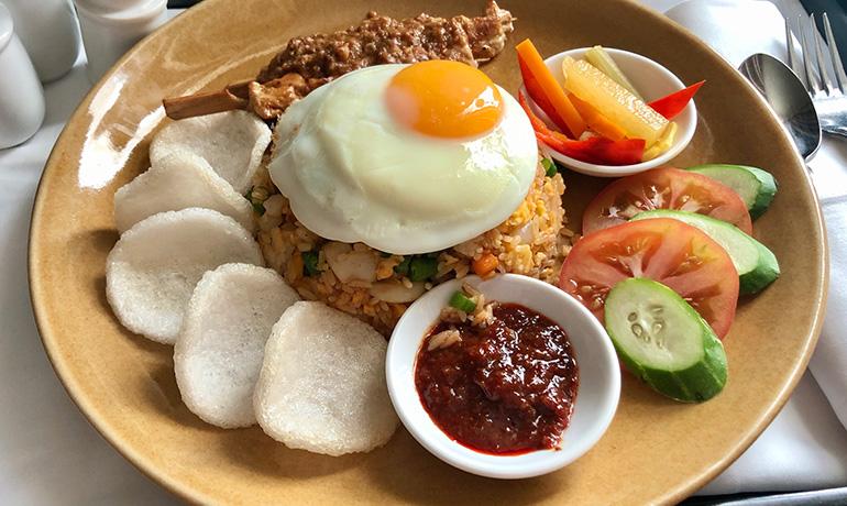 インドネシアのナシゴレンの写真
