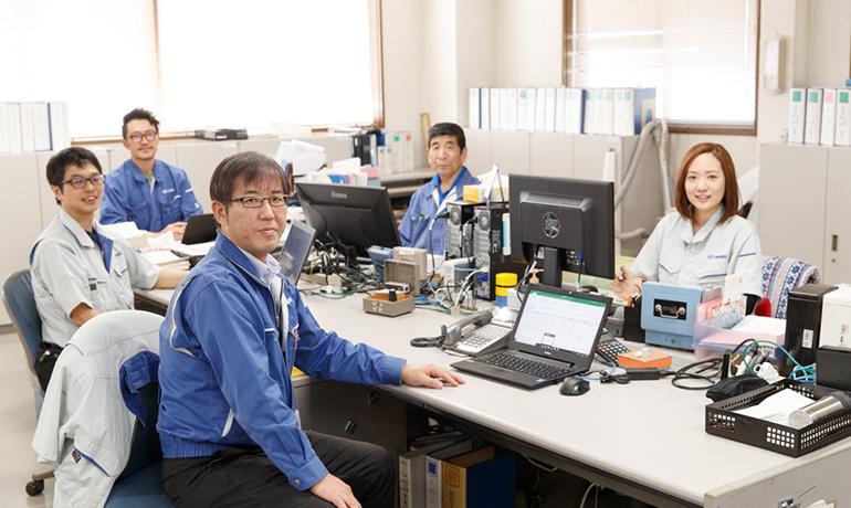 中村精工株式会社 社内の写真