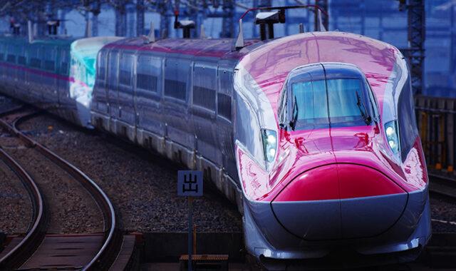 東北新幹線E6系こまち・E7系かがやき