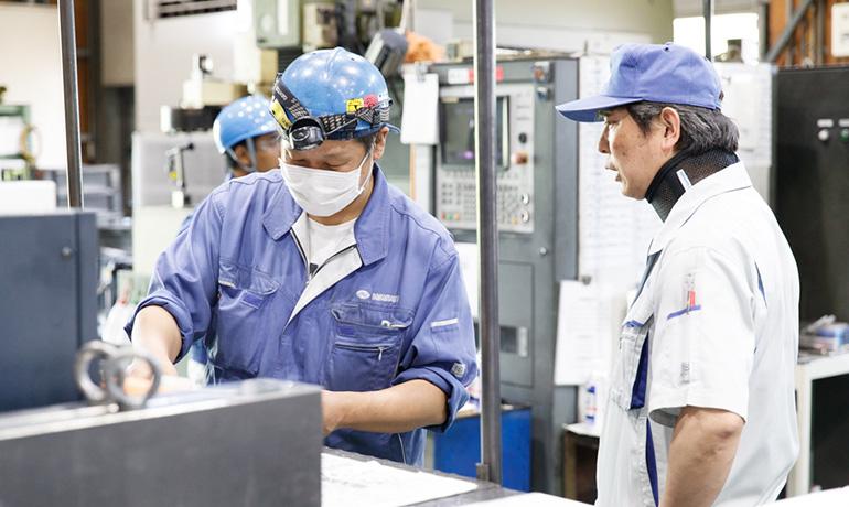 中村精工の社内コミュニケーション写真