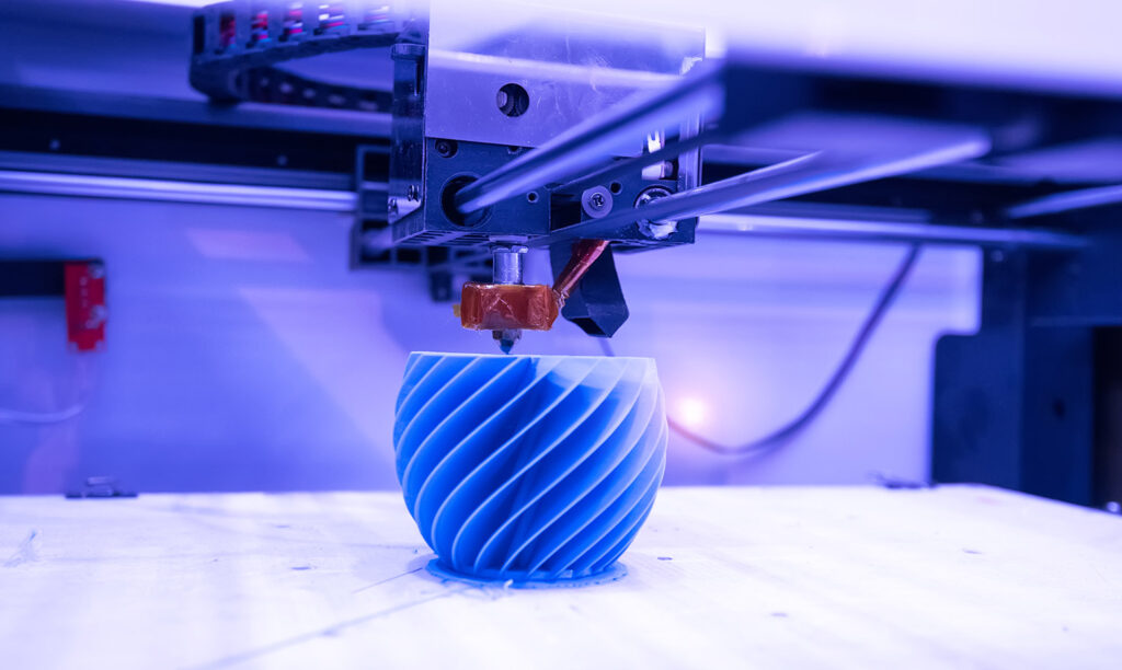 3Dプリンターのイメージ写真