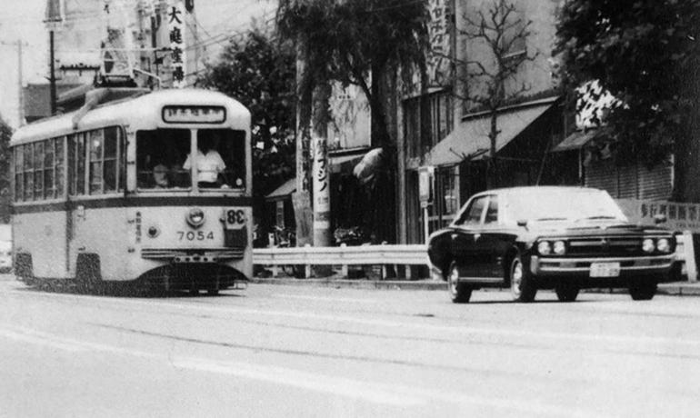 都電38系統-昭和46年の写真