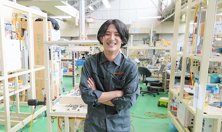 小鳥居さん-木曽川工場内での写真01