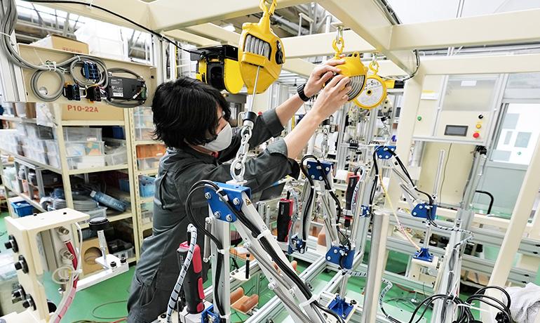 小鳥居さん-木曽川工場内での写真05