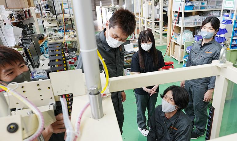 小鳥居さん-木曽川工場内での写真07