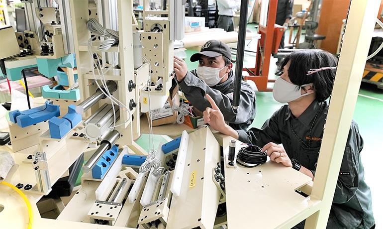 小鳥居さん-木曽川工場内での写真10