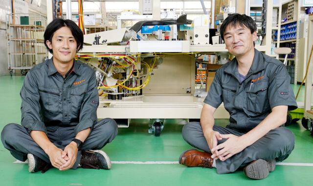加工事業部-木曽川工場内での撮影-小鳥居と源嶋