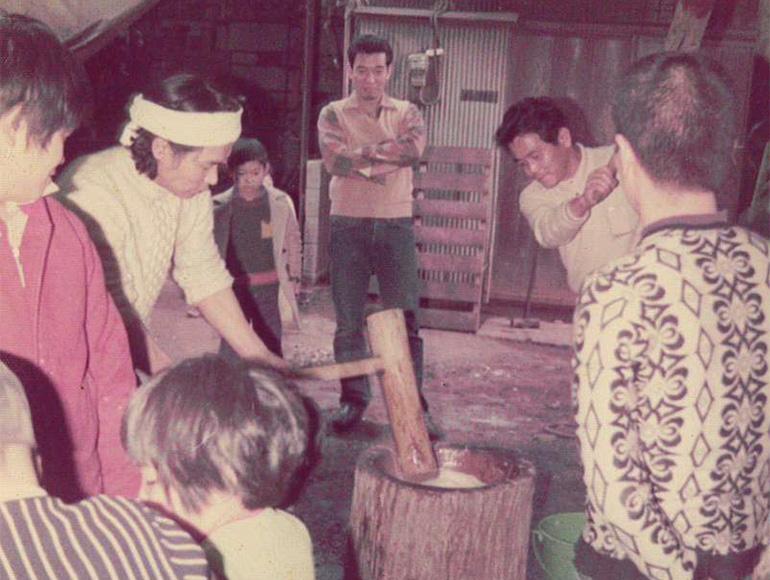 昭和50年頃-餅つき写真その2