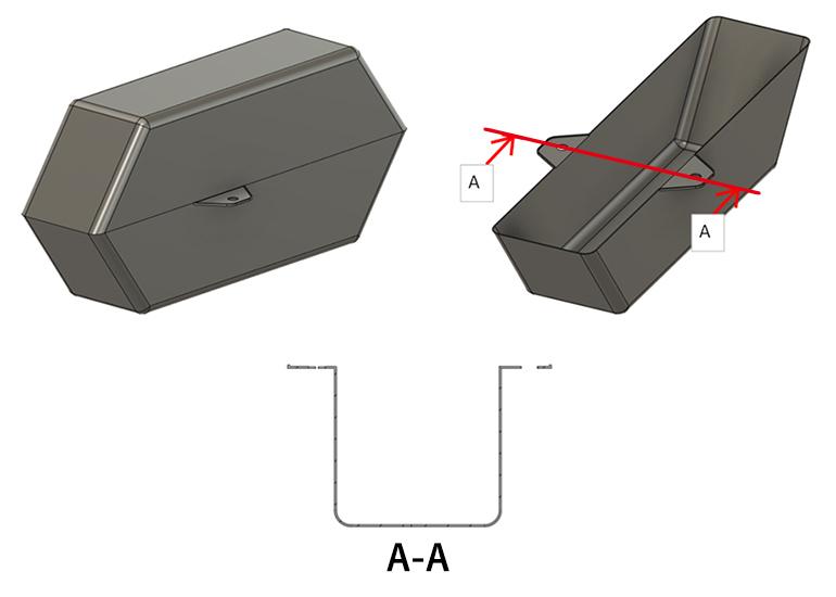 ブロー成形品のサンプルモデルのイメージ