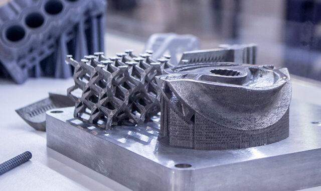 金属3Dプリンターのイメージ画像