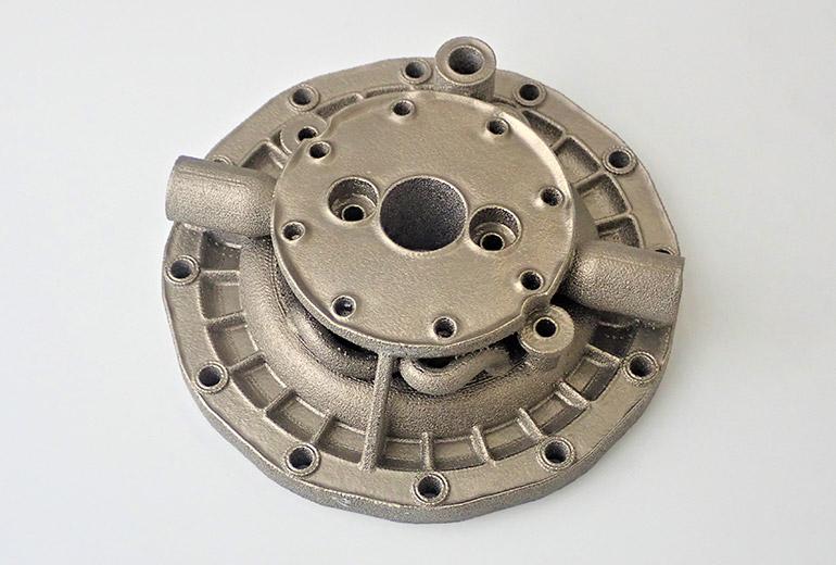3Dプリンターで製造した金属部品のサンプル-03