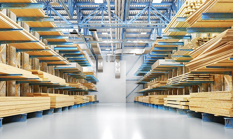 木材生産量のイメージ写真